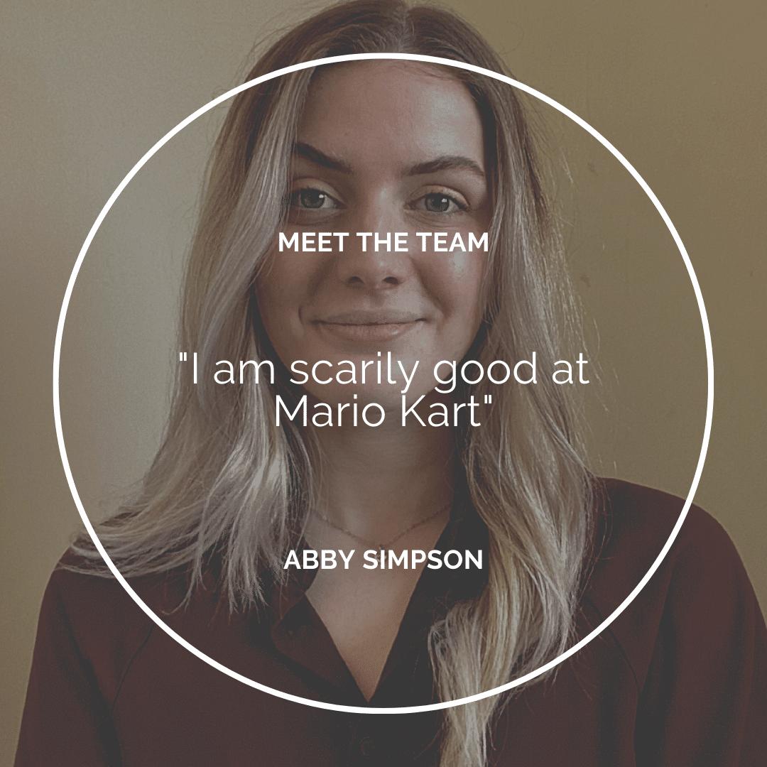 Meet the Team – Abby Simpson
