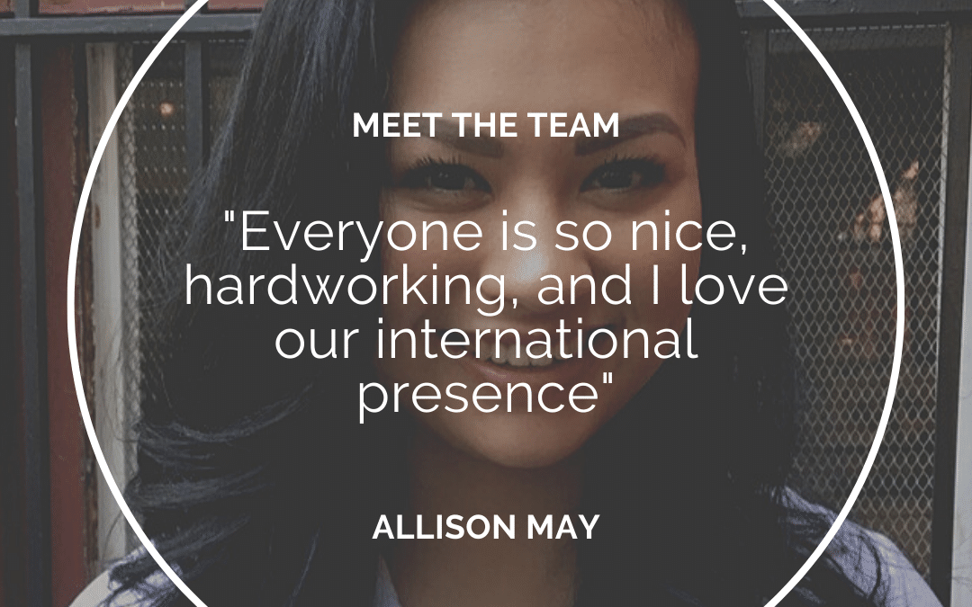 Meet the Team – Allison May