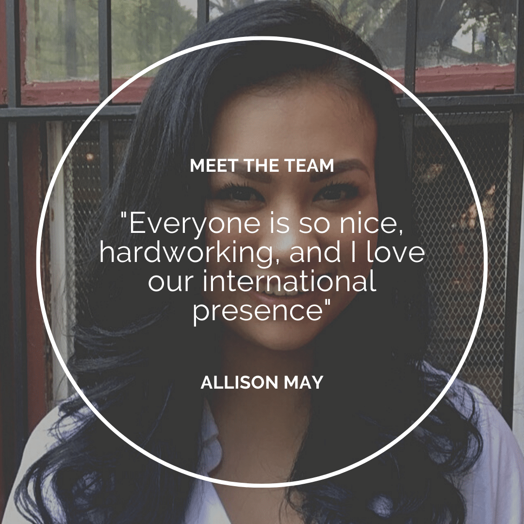 Meet the Team – Allison May