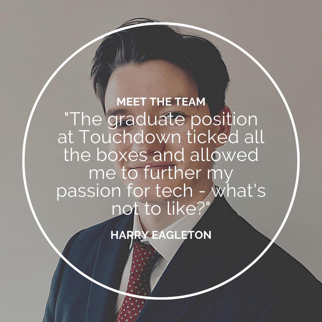 Meet the Team – Harry Eagleton