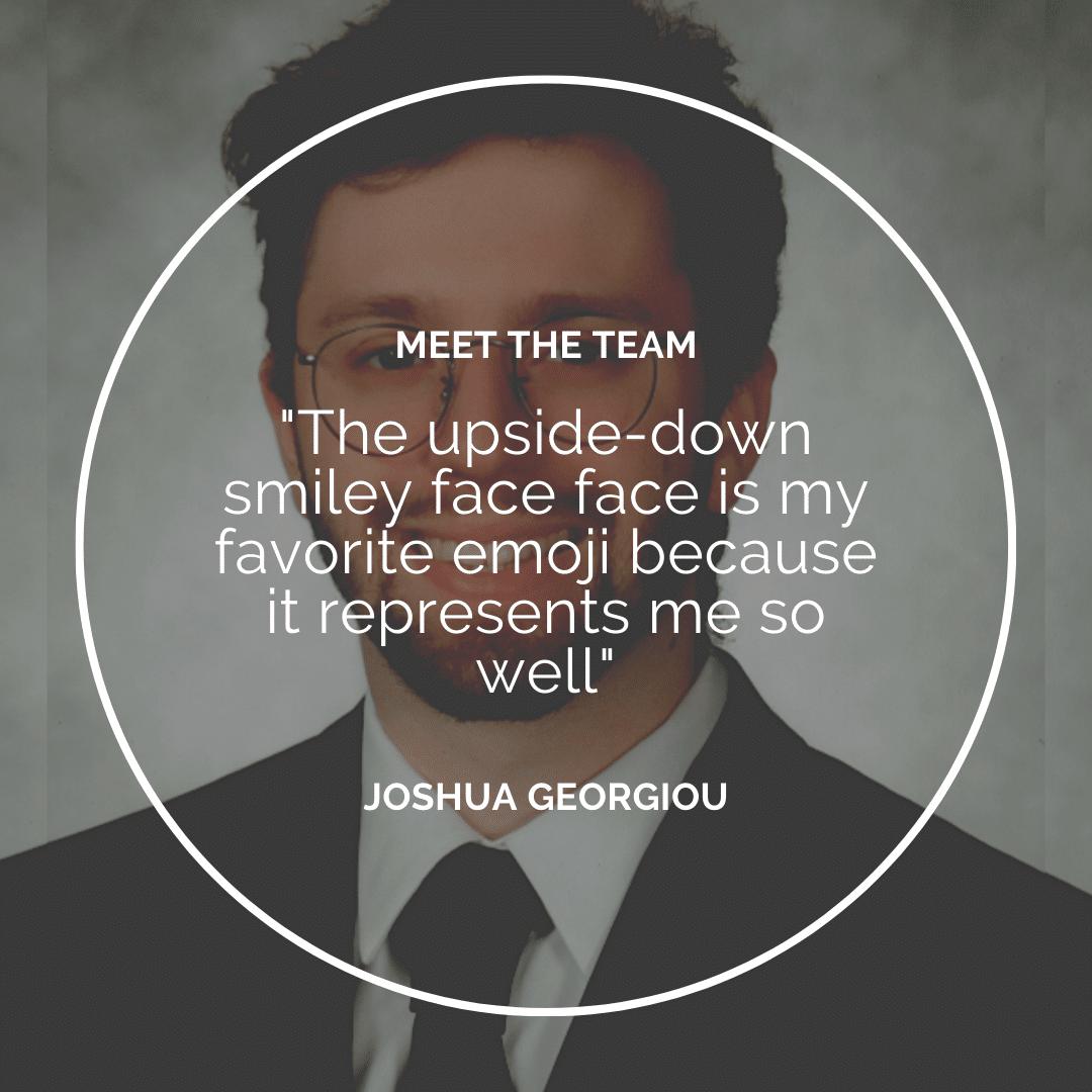Meet the Team – Joshua Georgiou