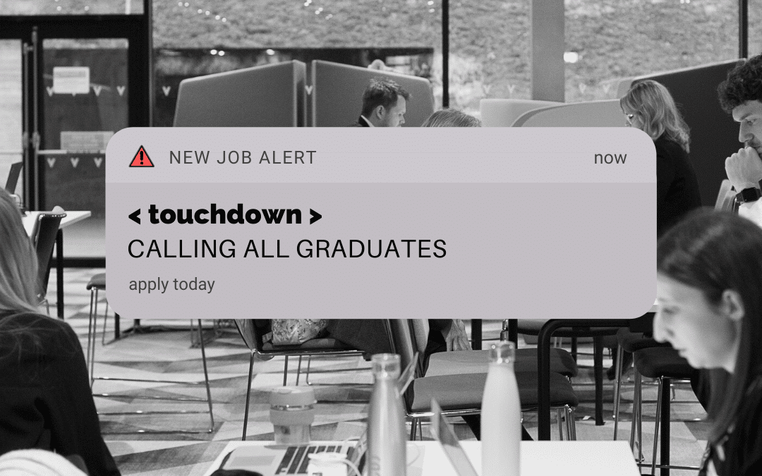Calling all Graduates looking to join our top-rated PR Technology agency