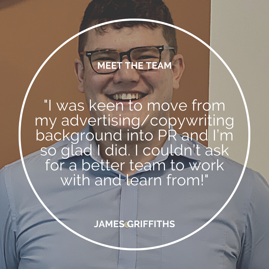 Meet the Team – James Griffiths